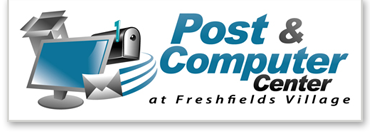 Post and Computer Center Logo - Seabrook Island, Kiawah Island, Johns Island